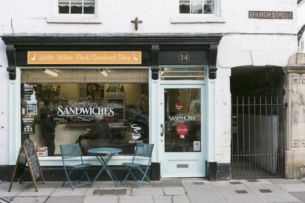 Little White Duck Sandwich Shop<br> <a target=