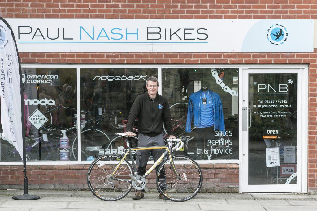 Paul Nash Bike Shop <br><a target=
